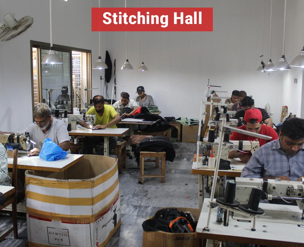 Stitching Hall
