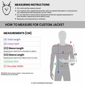 How to Measure Custom Jacket